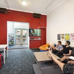 Hump Backpacker TV Room